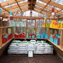 Birdhouses at Mel's Gardening