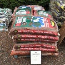 Red Cedar Mulch at Mel's Gardening